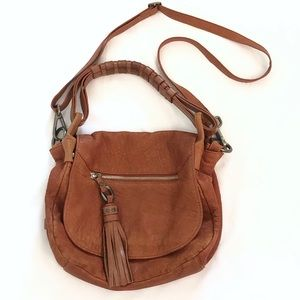 Luana leather crossbody/handbag